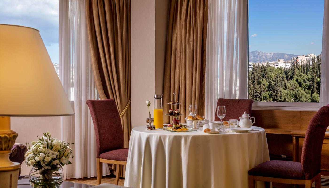 Divani Caravel Hotel - Lycabettus View Suite - Breakfast