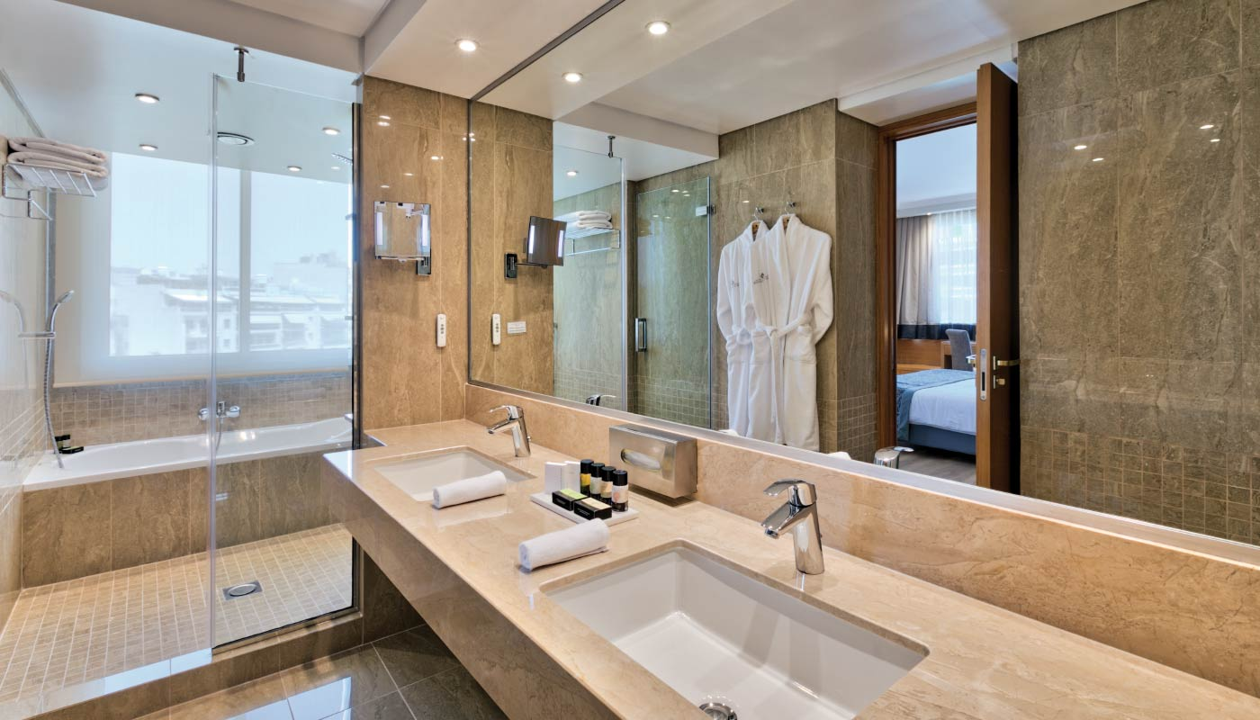Divani Caravel Hotel - Divine Suite - Bathroom