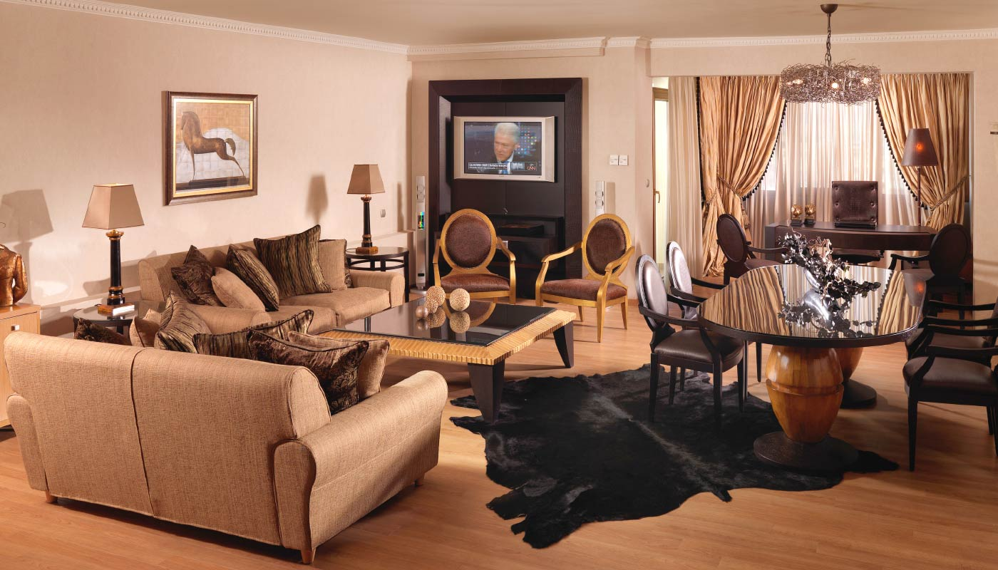 Divani Caravel Hotel - Presidential Suite 701 - Living Room