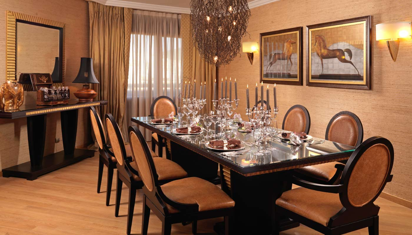 Divani Caravel Hotel - Presidential Suite 815 - Dining Room