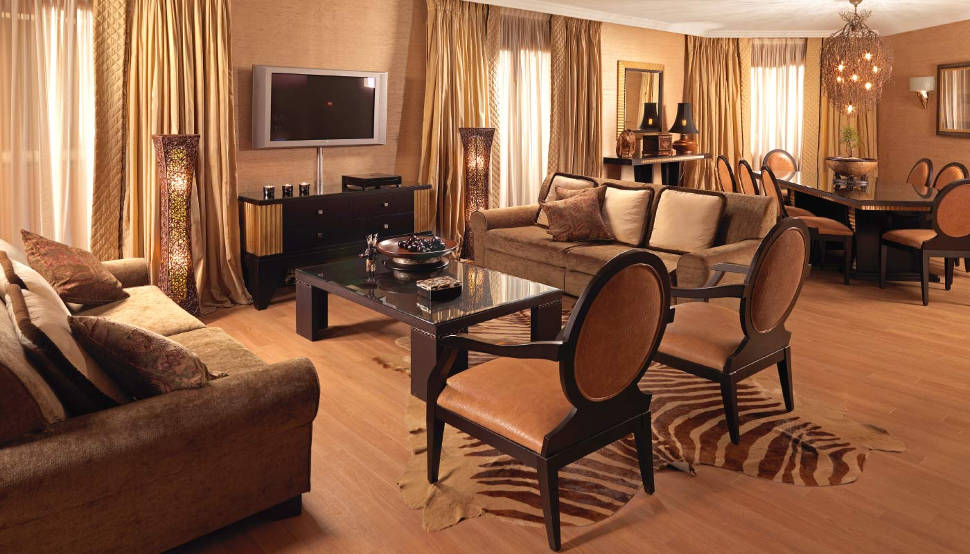 Divani Caravel Hotel - Presidential Suite 815 - Living Room