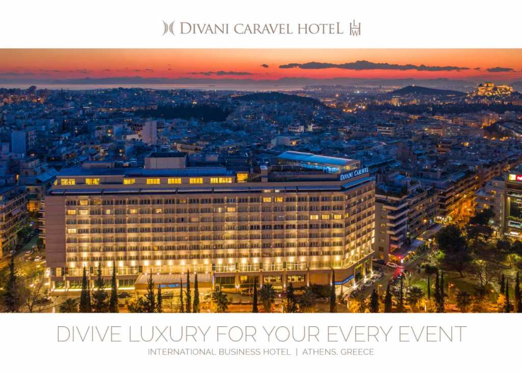 Divani Caravel Hotel - MICE Brochure Cover