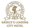 World Travel Awards Winner 2019 | Greece's Leading City Hotel