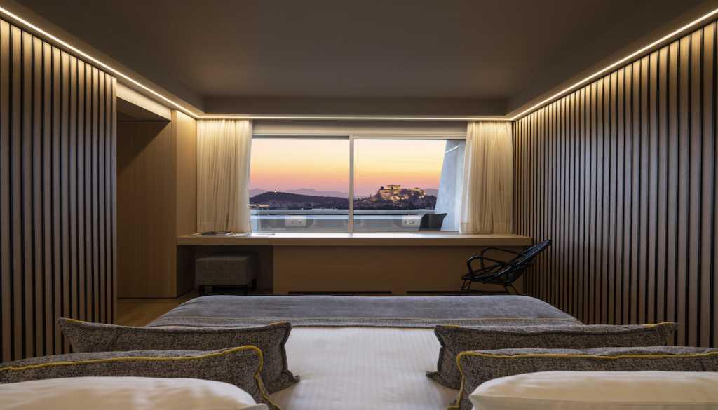 Divani Caravel Hotel - Divine Acropolis View Suite - View
