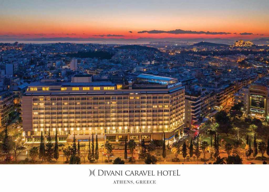 Divani Caravel Hotel - Corporate Brochure Cover