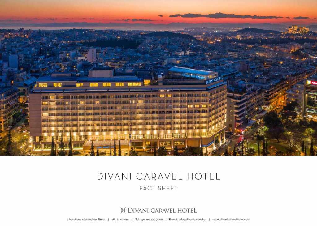 Divani Caravel Hotel - Fact Sheet Cover 2021