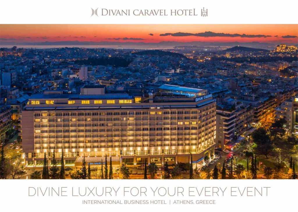 Divani Caravel Hotel - MICE Brochure Cover